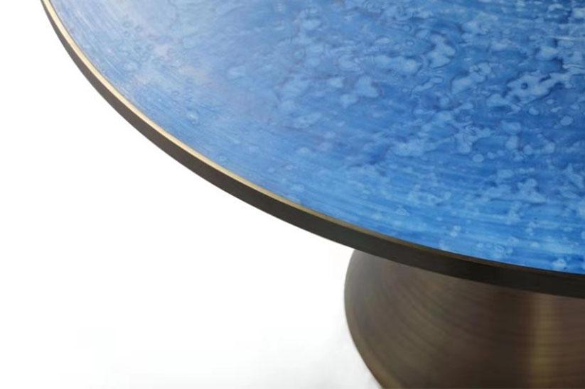 Project Image - Blue Porcelain Desk