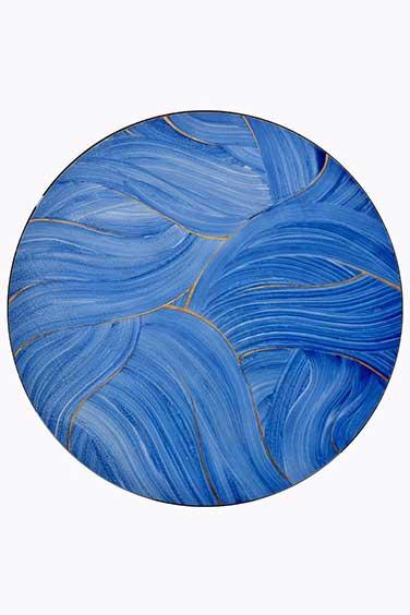 Project Work Image, Blue Porcelain